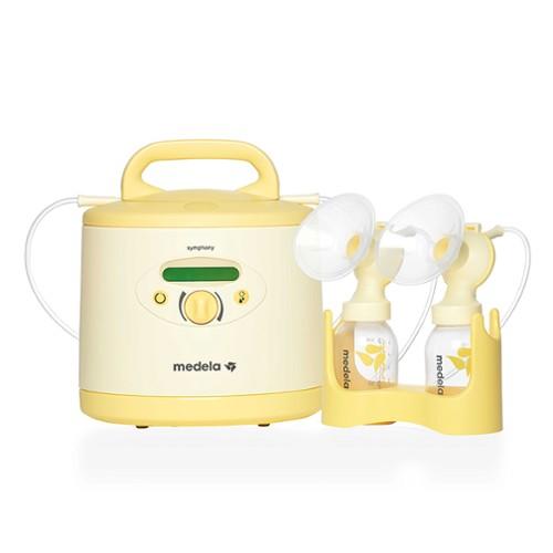 Elektrische Doppel Milchpumpe Baby Muttermilch Tragbare Komfort Brustpumpe
